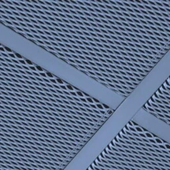 АЛБЕС подвесной потолок из просечно-вытяжной сетки