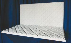 Декорированная акустическая панель