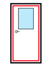 распашные двери на заказ