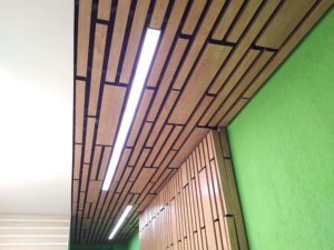 СтройДизайн декоративные реечные потолки