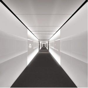 линейные светодиодные светильники в интерьере