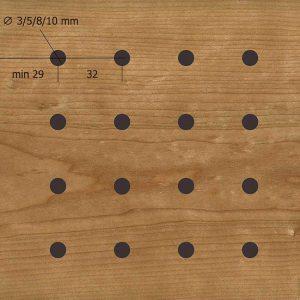 Акустическая, негорючая панель D3,5,8,10.32