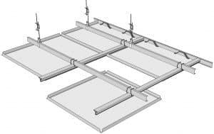 INGERMAX герметичный подвесной потолок Clip-In