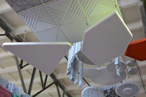 акустические панели эхокор треугольники