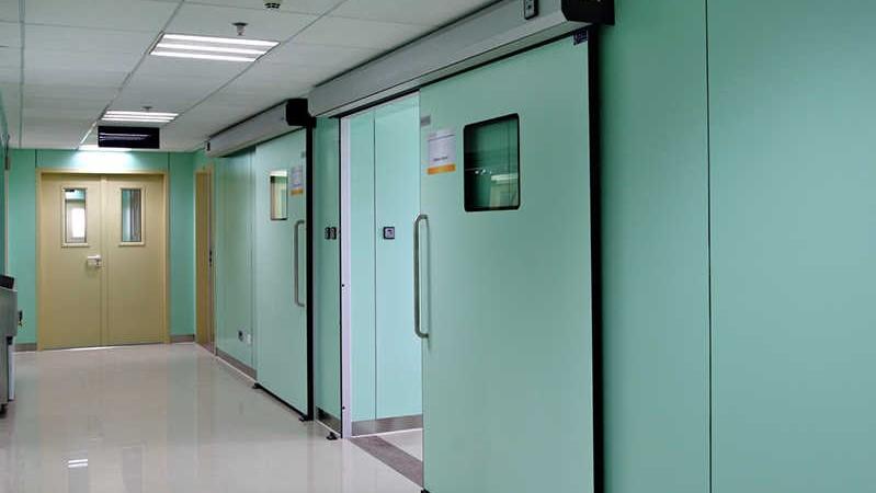 Автоматические двери больницу