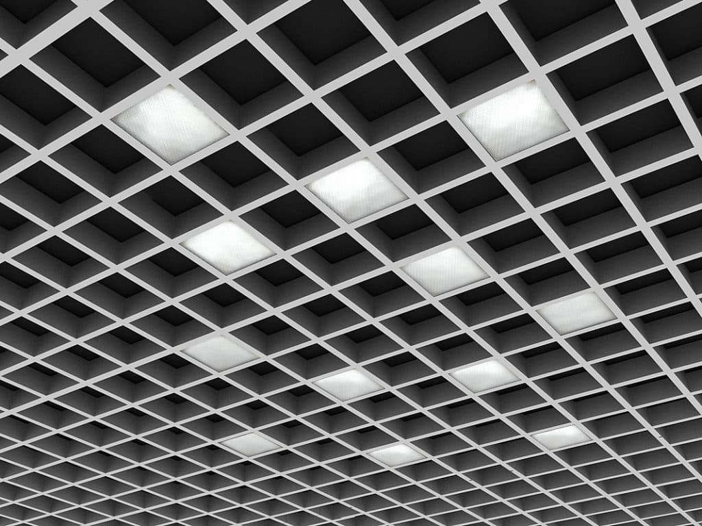 Металлический потолок БАРД КР-3