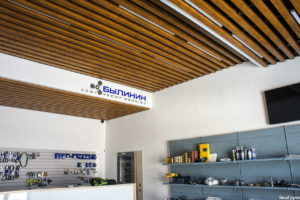 СтройДизайн потолок кубообразная рейка