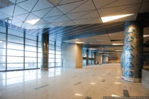 геометрический подвесной потолок