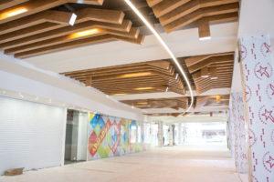 СтройДизайн кубообразная рейка дизайнерский потолок