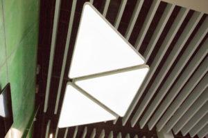 СтройДизайн реечные алюминиевые потолки
