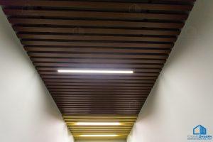 светильники в кубообразный потолок