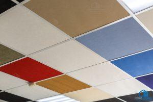 цветной потолок армстронг