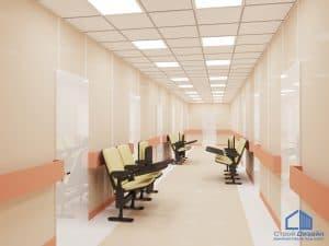 потолок для больницы