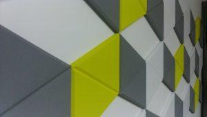 эхокор панели абстракция геометрия
